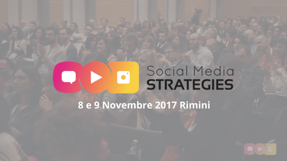 evento per professionisti del social media marketing