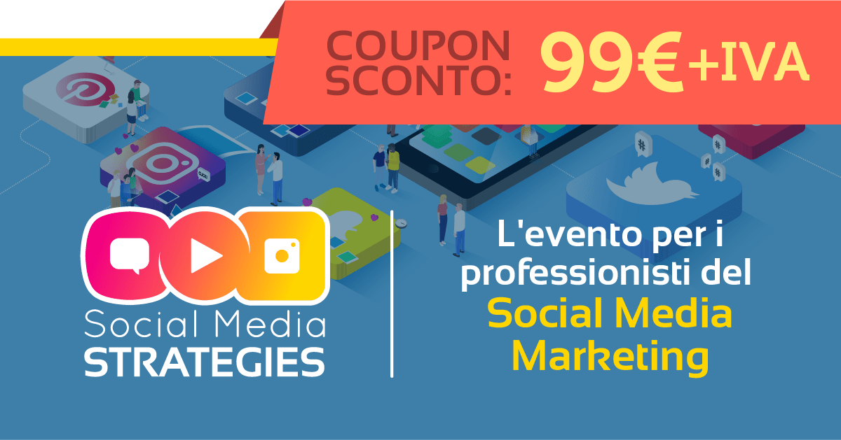 coupon sconto social media strategies Spremute Digitali