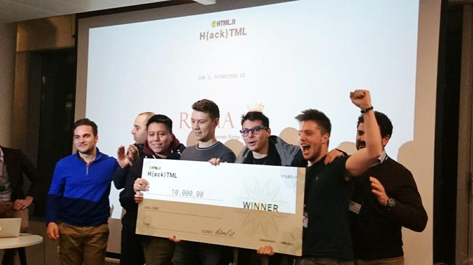 vincitore machine learning hackathon