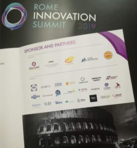 Rome innovation summit 2019