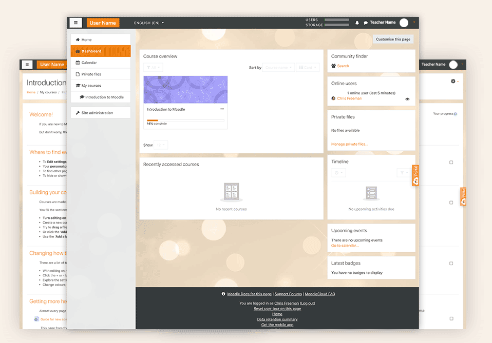 Moodle LMS: apprendimento online open source