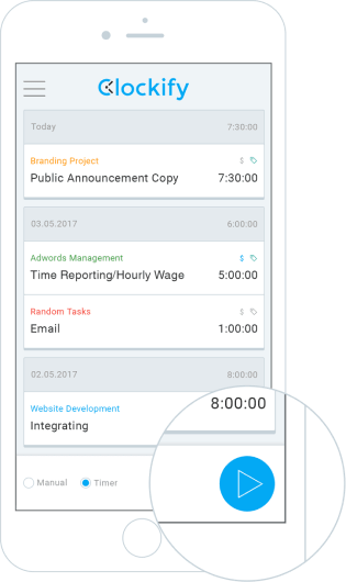 Clockify - 100% Free Time Tracking Software